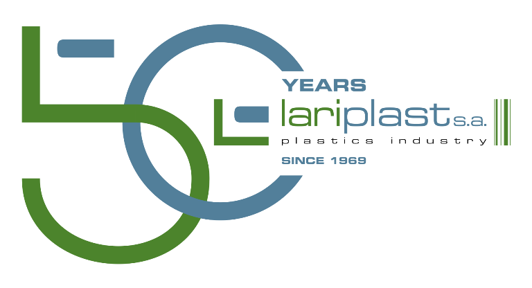 LARIPLAST 50 YEARS transparent small